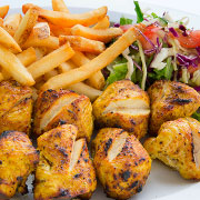 Chicken Kebab & Fries